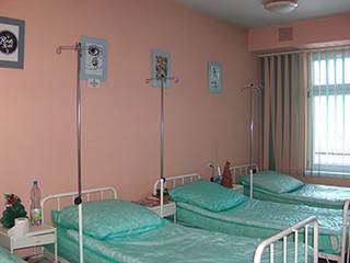 wystawa na dziennym oddziale chemioterapii