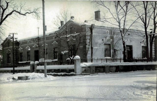Willa Buchowieckich przy ulicy Mickiewicza, w której mieścił się  prywatny gabinet doktora Stefana Buchowieckiego. Fot. Z archiwum  rodziny Ostrowskich.