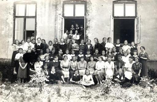 25. Średnia Szkoła Zawodowa na Skałce. 1938 rok. Fot. ze zbiorów Ryszarda Maliszewskiego.