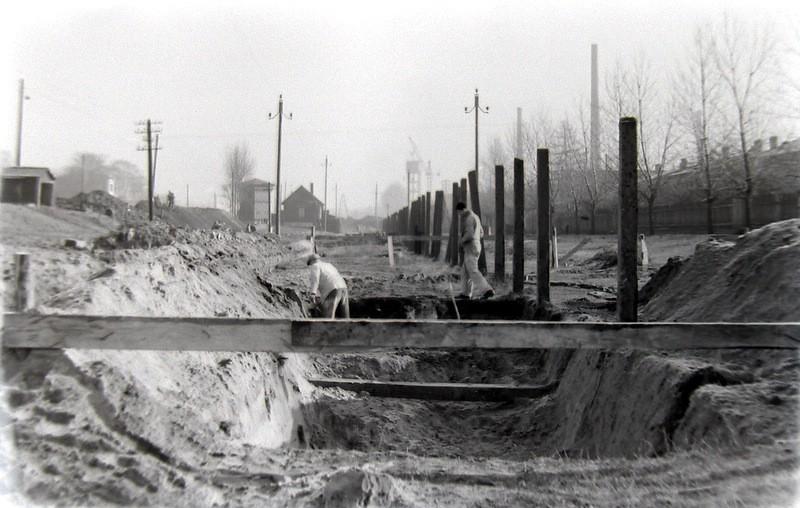 6. Regulacja rzeki Baby, lata 60-te. Fot. Jan Nosowicz.