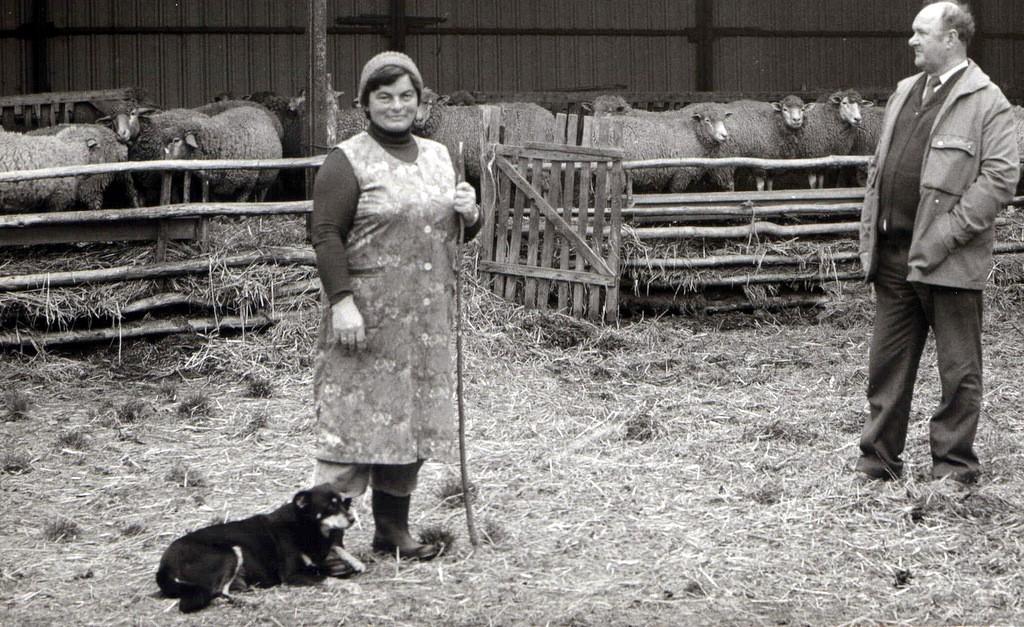 3. Gospodarstwo rolne w okolicy Olkusza, lata 80-te. Fot. Jan Nosowicz.