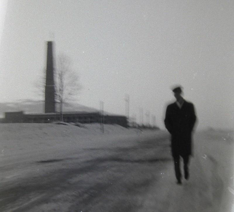14. Kotłownia przy późniejszym nowym szpitalu, rok 1967. Fot. Piotr  Nogieć.