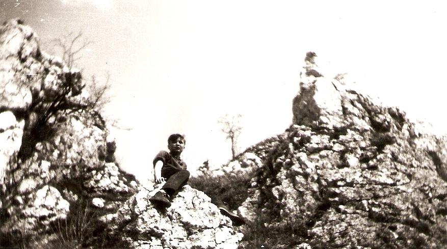 27. Rabsztyn. 1961 rok. Fot. Ze zbiorów Ryszarda Maliszewskiego.