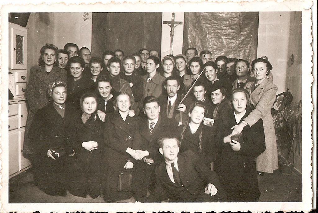 1. Chór olkuski, ok. 1940 rok. Fot. Ze zbiorów Grzegorza Miski.
