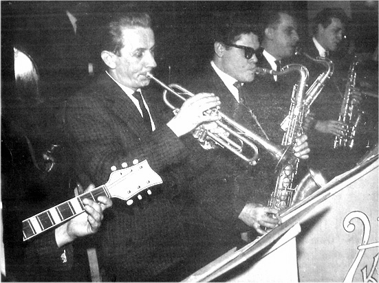 6. Zespół estradowy OFNE, lata 60-te.  Fot. Jan Nosowicz.