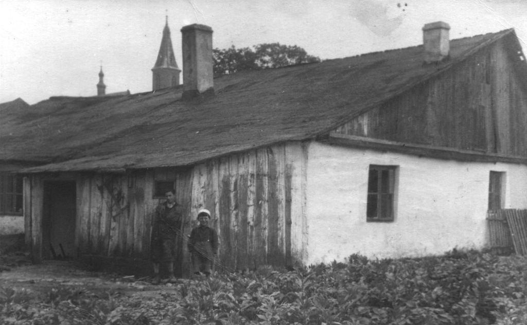 33. Dom Kocotów i Windysów przy ulicy Sławkowskiej. Fot. Z archiwum Muzeum Regionalnego PTTK w Olkuszu.