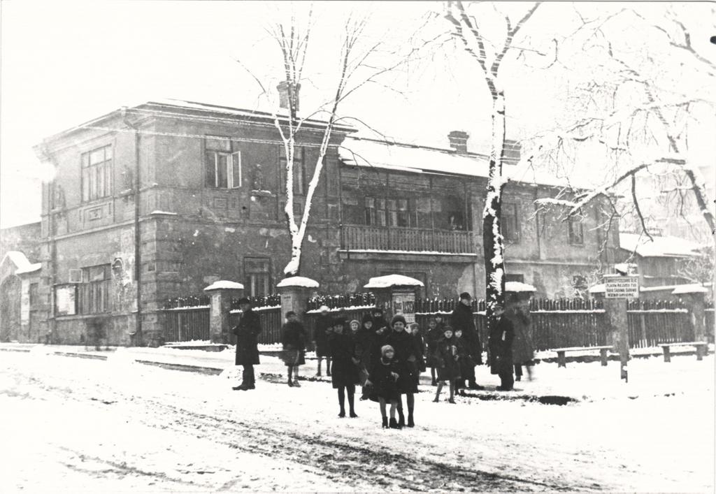6. Budynek przy skrzyżowaniu Mickiewicza i Sławkowskiej. Fot. Z archiwum Mieczysława Karwińskiego.