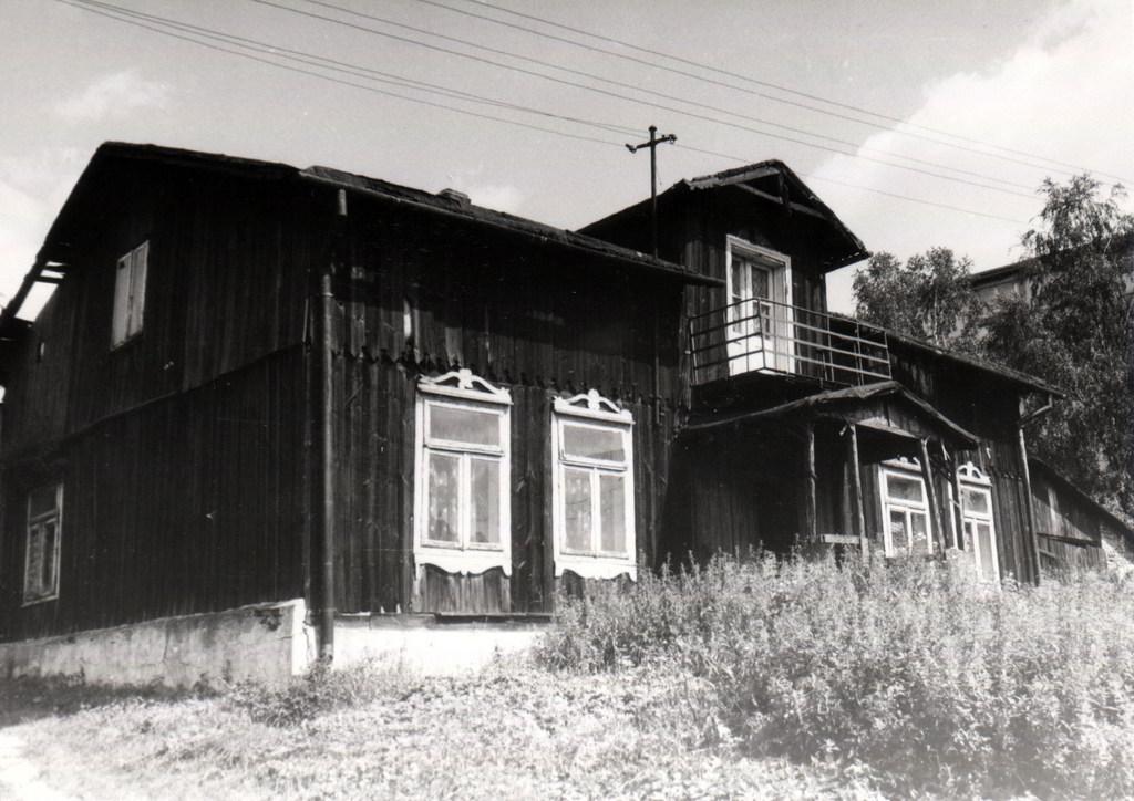 8. Dom przy ulicy Bylicy.  Fot. Ze zbiorów Ryszarda Ryzy.