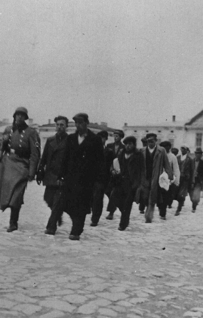 20. Krwawa Środa w Olkuszu. Fot. Z archiwum Muzeum Regionalnego PTTK w Olkuszu.