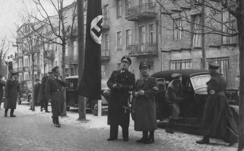 5. Okupacja nazistowska w Olkuszu. Fot. Z archiwum Muzeum Regionalnego PTTK w Olkuszu.