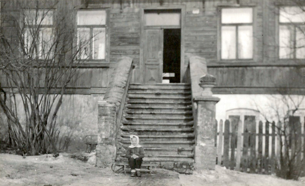 2. Fragment willi Lendera (Polmet), stojącej do początku lat 70. przy ulicy 1 Maja. Fot. Ze zbioru rodziny Florków.