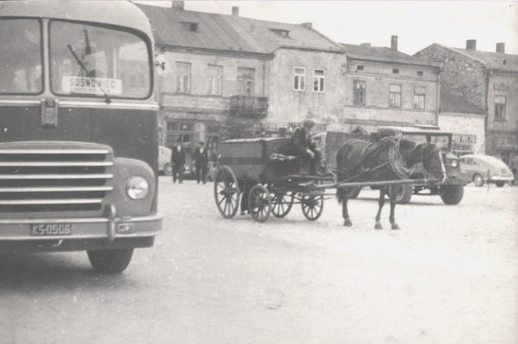 26. Wózek pocztowy. Lata 50-te. Fot. Ze zbiorów Pawła Barczyka.