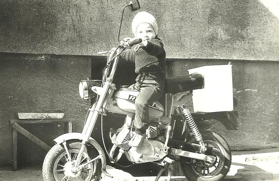 52. Motorynka, rok 1985. Fot. Z archiwum Zbigniewa Barańskiego.