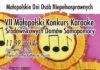 karaoke plakat