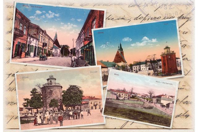 mok wystawa pocztowek baner