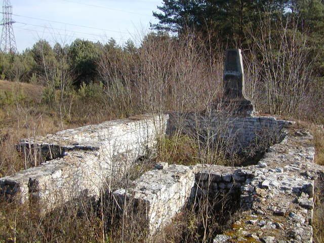 pozostałości kościoła św. jana