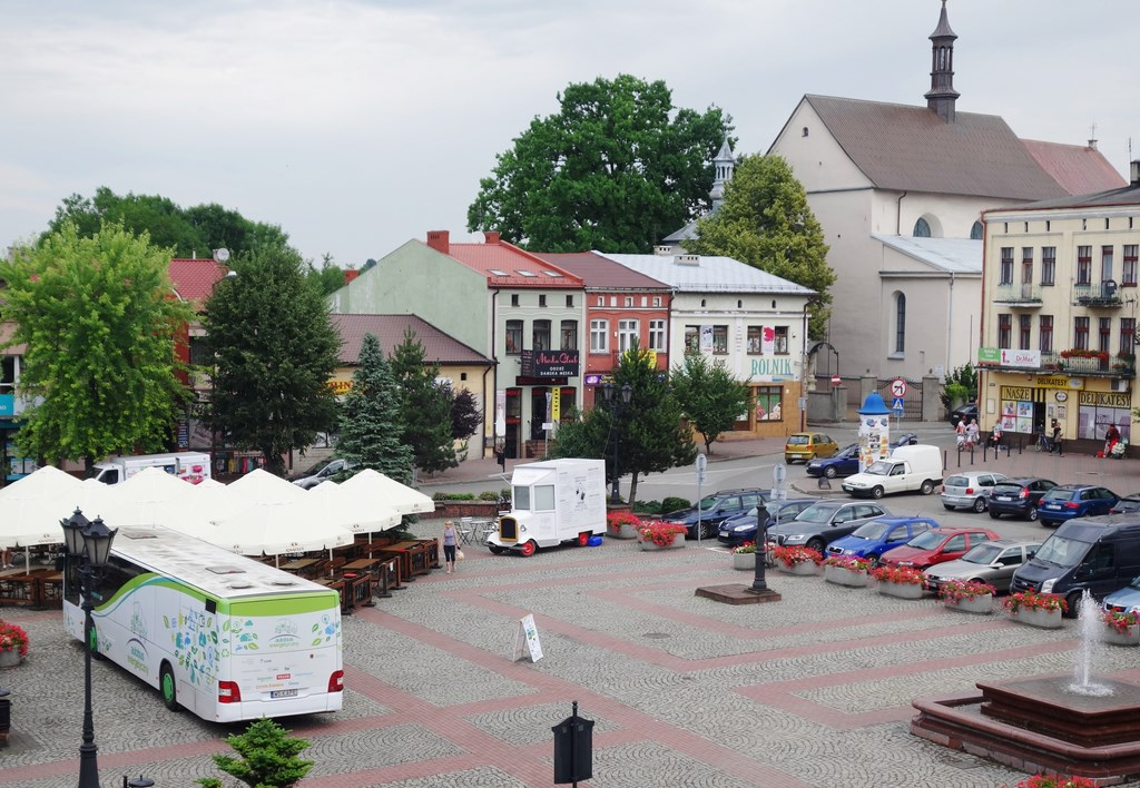 autobus rynek Kopiowanie