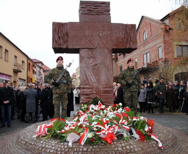 pomnik ofiar komunizmu odsłonięcie1