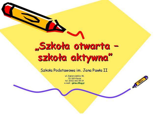 konkurs szkoła otwarta