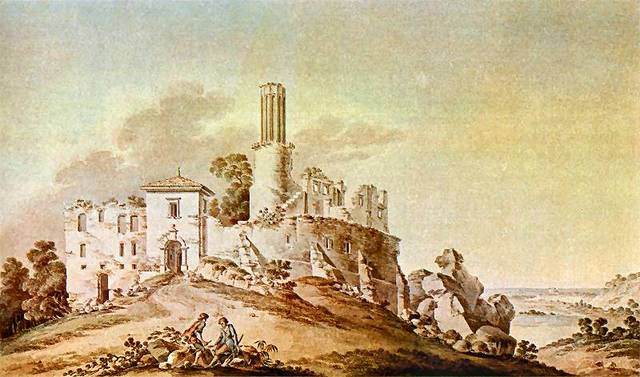 zygmunr vogel rabsztyn zamek 1792 r