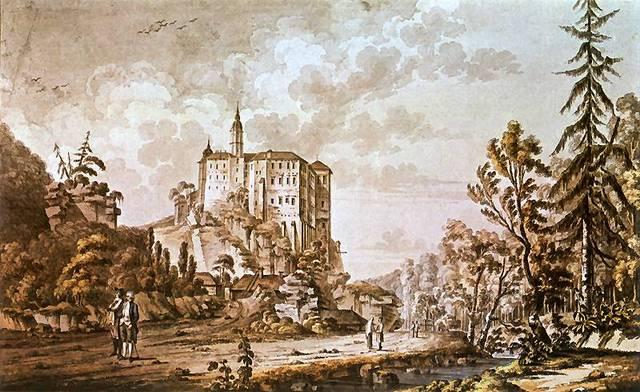 zygmunt vogel zamek pieskowa skala i prądnik 1787 r