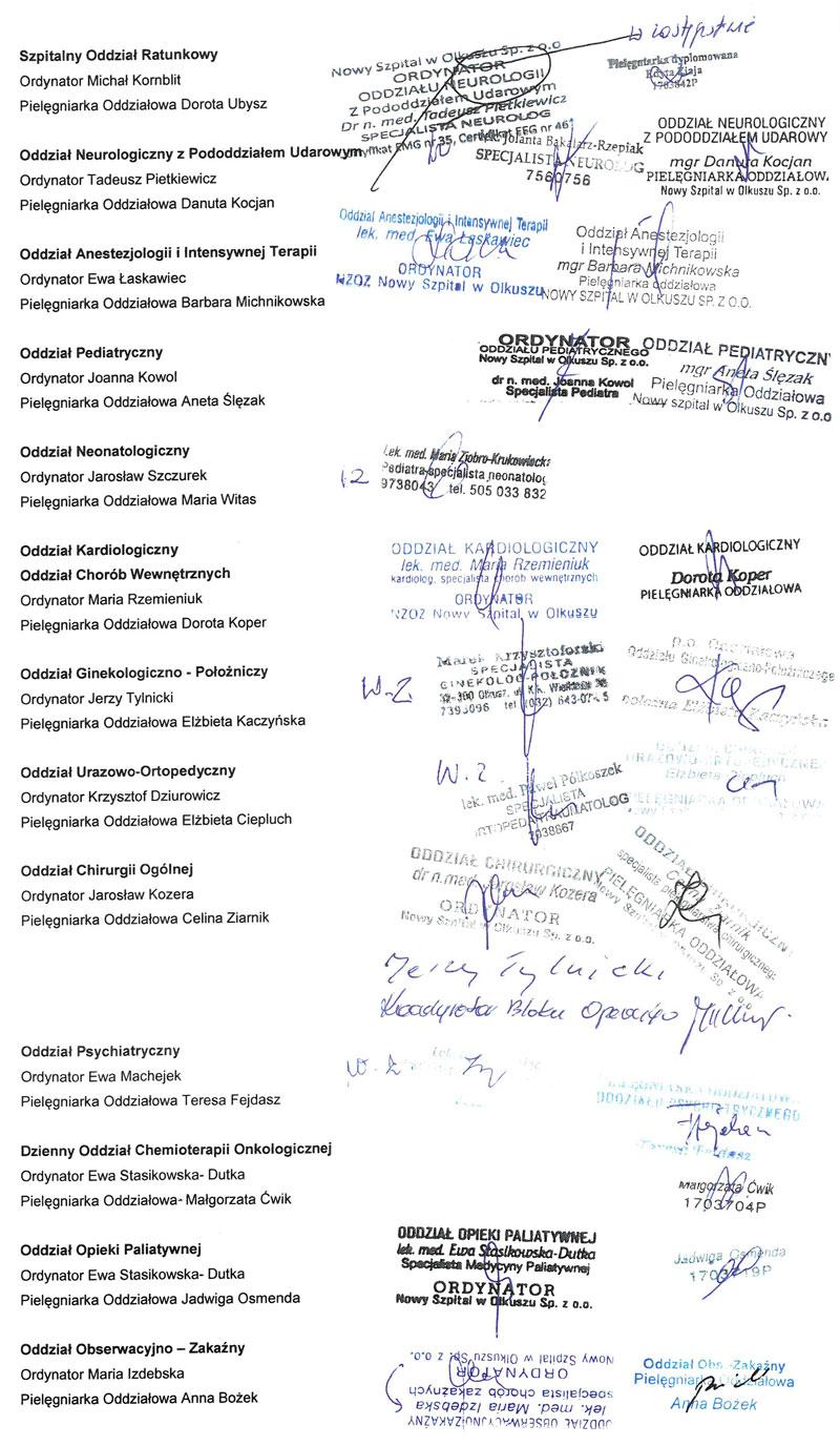 list otwarty podpisy