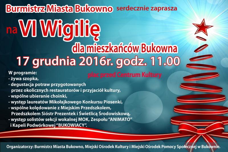 wigilia bukowno 2016