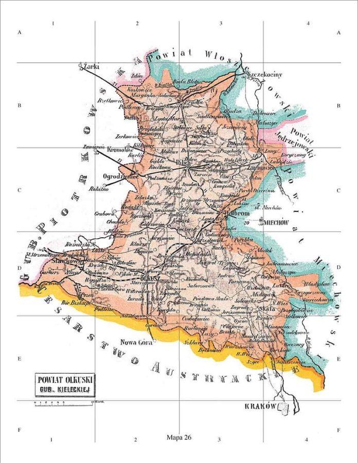 powiat olkuski 1866 1914