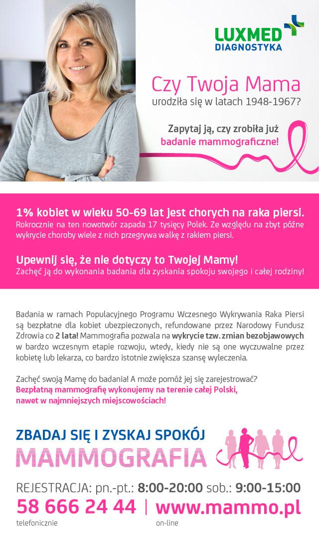 mammografia bukowno 2017