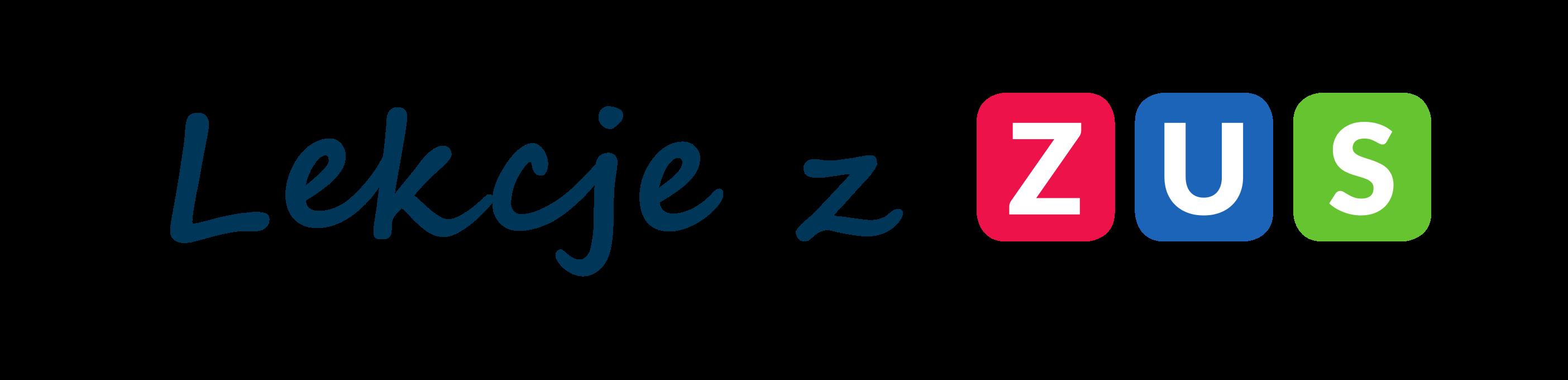 logo lekcje z zus