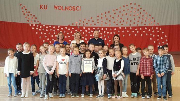 certyfikat szkoły promujacej bezpieczeństwo 2018 2
