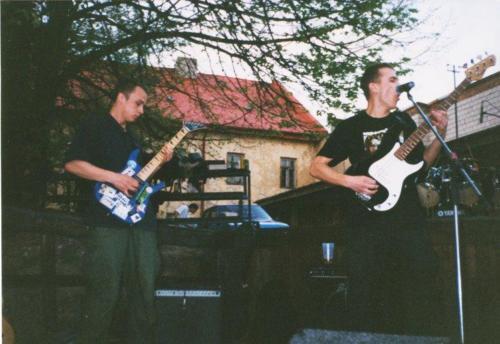 Jeden z koncertów na Letniej scenie Baszty, fot. AA Baszta