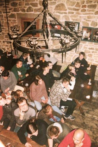 Jedna z imprez w baszcie, fot. AA Baszta