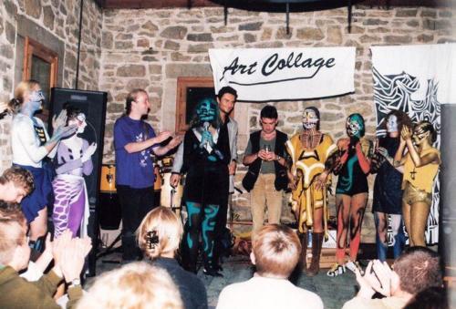 Spektakl taneczno-muzyczny Art Collage. Oprócz T. Hernika, Marek Smok Rajss, fot. AA Baszta