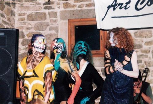 Spektakl taneczno-muzyczny Art Collage, fot. AA Baszta