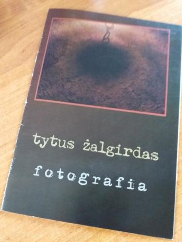 Katalog z mojej wystawy w Baszcie, fot. Olgerd Dziechciarz