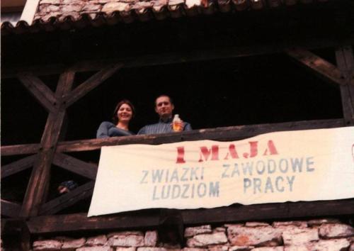 1 maja w Baszcie, Lidia i Maciej Włodarczykowie, fot. AA Baszta