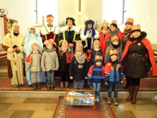 Orszak Trzech Króli w Bukownie - 6.01.2020