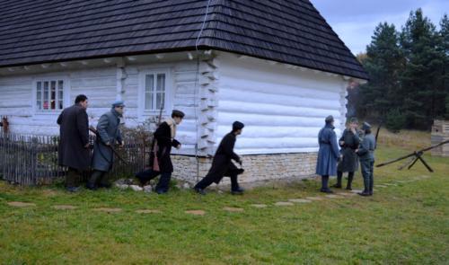 Rekonstruktorzy w Rabsztynie